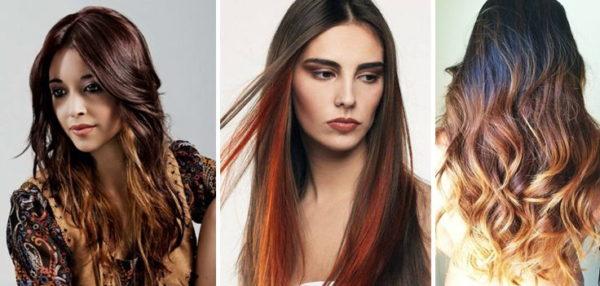 Омбре окрашивание волос на короткие волосы - фото 8