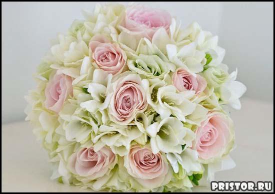 Красивые свадебные букеты для невесты - фото 7
