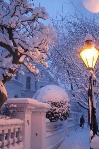Картинки зима на телефон - красивые и прикольные скачать бесплатно 16