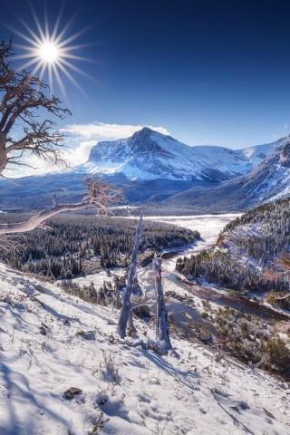 Картинки зима на телефон - красивые и прикольные скачать бесплатно 4