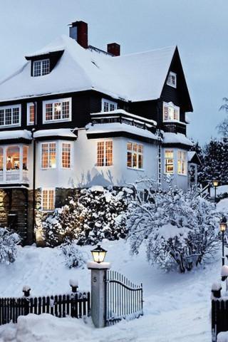 Картинки зима на телефон - красивые и прикольные скачать бесплатно 5