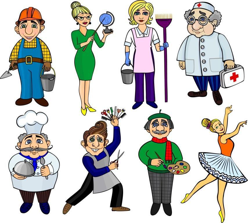 Картинки профессий для детей - прикольные, красивые 8