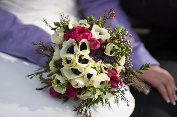 Красивые букеты из живых цветов - фото, картинки, удивительные 4