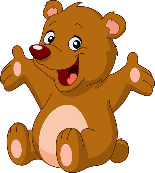 Фото медведя с детьми