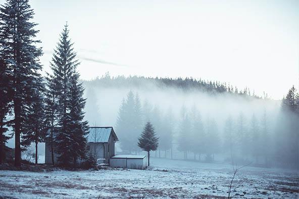 Очень красивые картинки зима природа, фото природы зимы - смотреть 8