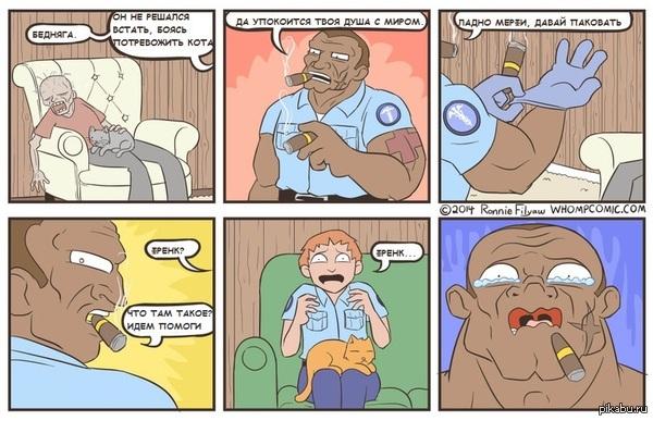 Прикольные и смешные комиксы про котов - смотреть бесплатно 6