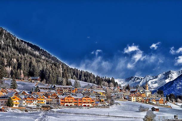 Природа зимы - картинки красивые, зимняя природа картинки 10