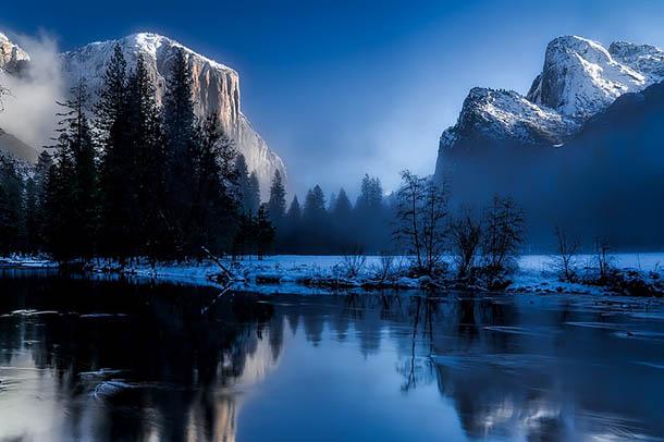 Природа зимы - картинки красивые, зимняя природа картинки 15