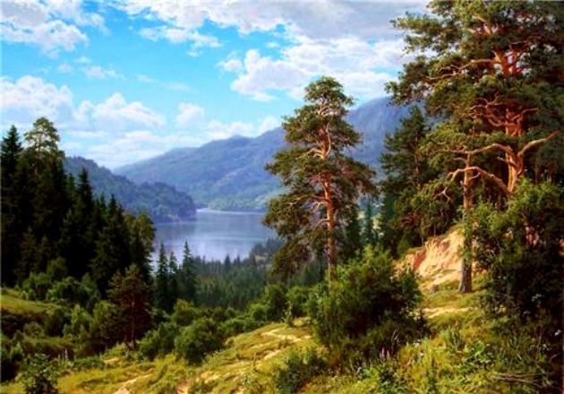 Русская природа картинки - красивые, удивительные, прикольные 1