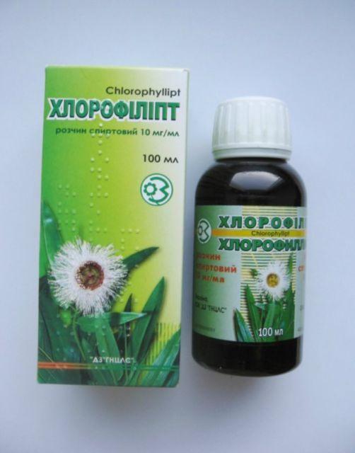 Хлорофиллипт инструкция по применению, полоскание горла 2