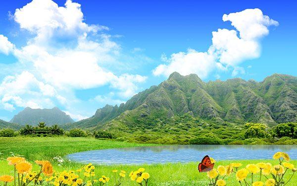 Картинки лето природа, красивые картинки пейзажи природы 3