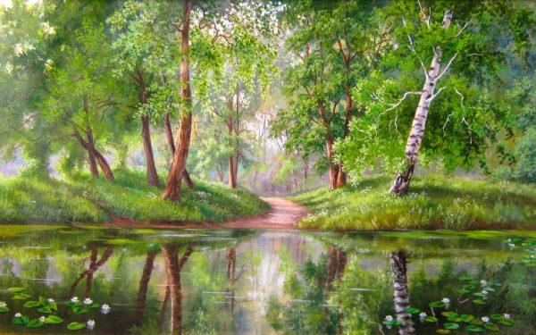 Картинки лето природа, красивые картинки пейзажи природы 6