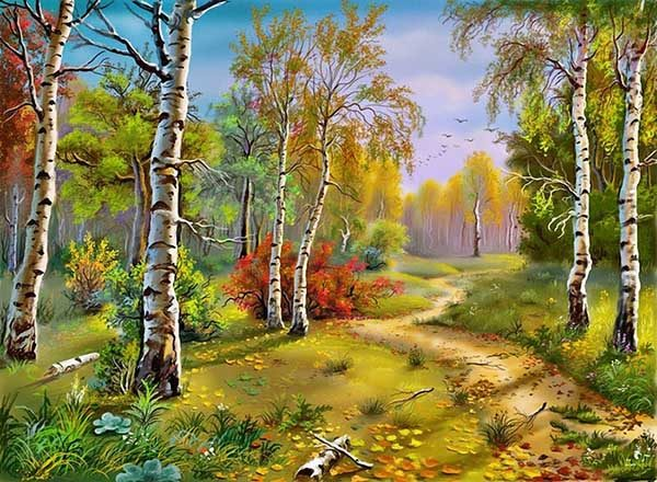 Природа картинки нарисованные, охрана природы картинки красивые 8