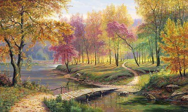 Природа картинки нарисованные, охрана природы картинки красивые 13