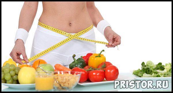 Правильное питание для похудения - меню на неделю 1