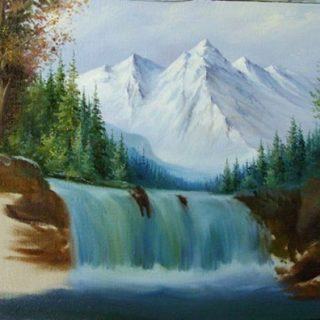 Природа картинки нарисованные, охрана природы картинки красивые 14