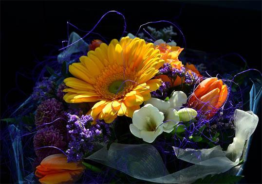 Букеты цветов картинки, фото - красивые, удивительные, интересные 9