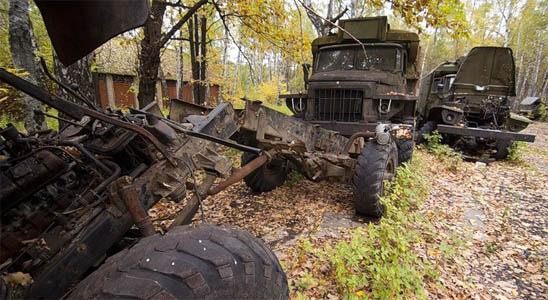 Заброшенные военные склады с оружием - фото, картинки, прикольные 1
