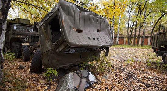Заброшенные военные склады с оружием - фото, картинки, прикольные 10