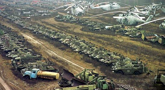 Заброшенные военные склады с оружием - фото, картинки, прикольные 3