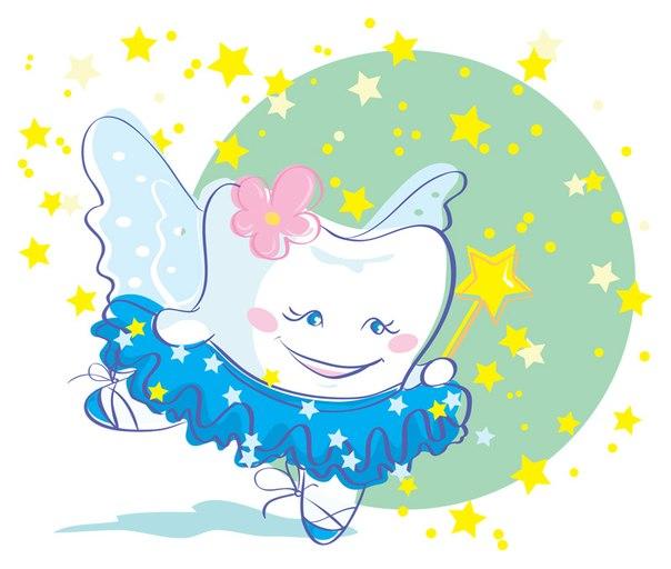 Зубная фея картинки - для детей, прикольные, красивые, крутые 10