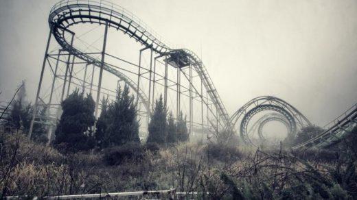 Парк Нара Dreamland, Япония заброшенные места 12