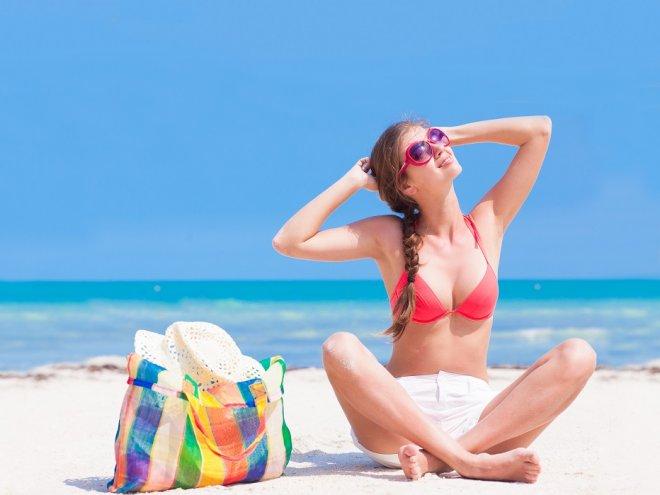 Прикольные фото девушек на пляже - красивые, милые, удивительные 9