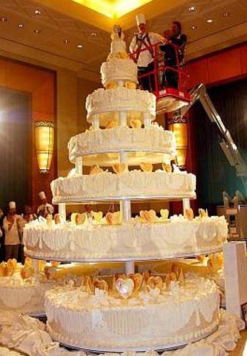 Самый большой свадебный торт 1