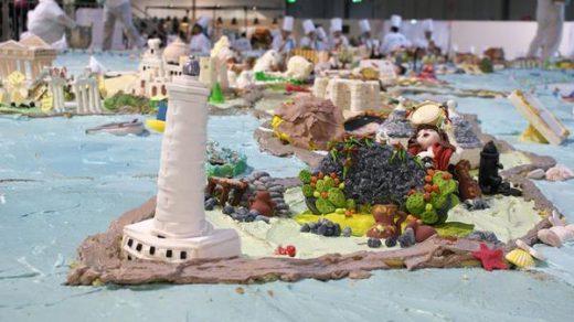 Самый большой торт в мире в Италии, фото самых больших тортов 2