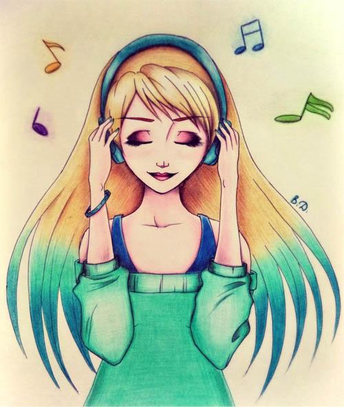 Картинки аниме девушек на аву