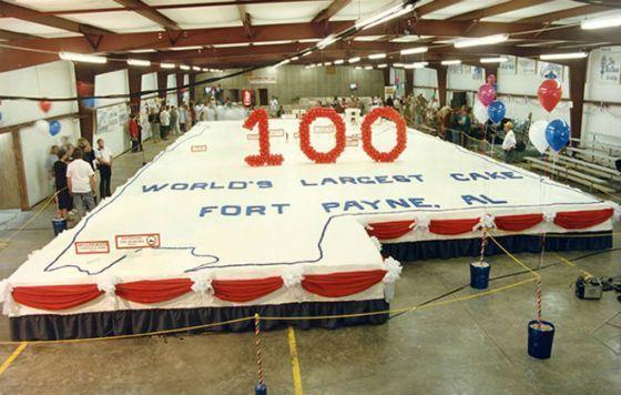 Торт к 100-летию Форт-Пейна