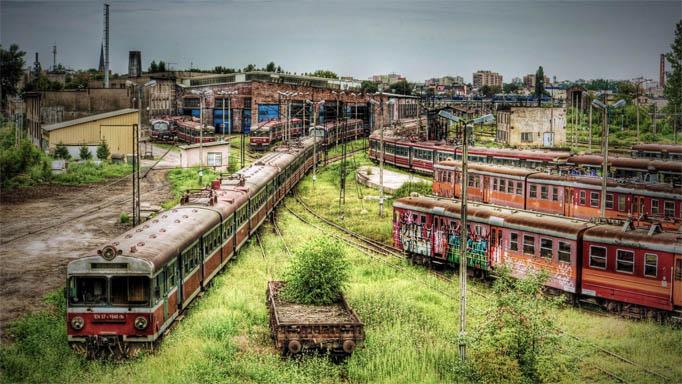 Удивительные и очень красивые фото заброшенных городов 2