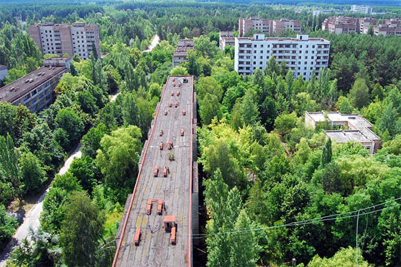 Удивительные и очень красивые фото заброшенных городов 3