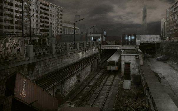 Удивительные и очень красивые фото заброшенных городов 6