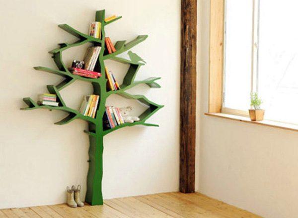 Интересные фото книжных полок - красивые, прикольные 15