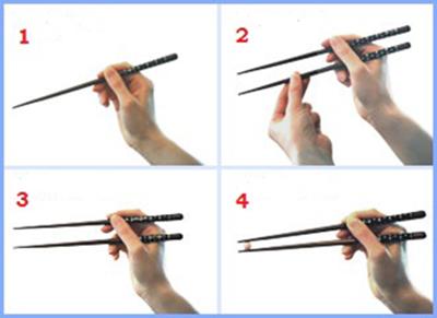 Как правильно держать китайские палочки - лучшие советы 1