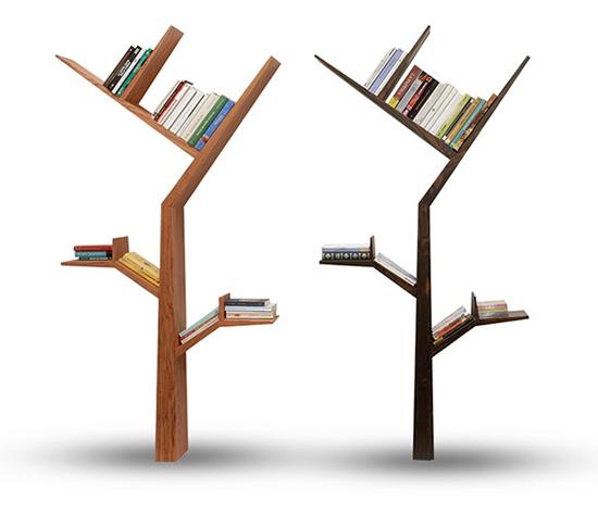 Интересные фото книжных полок - красивые, прикольные 5