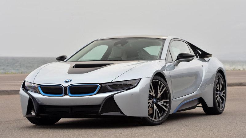 BMW i8 - красивые фото, картинки и фото салона автомобиля 5