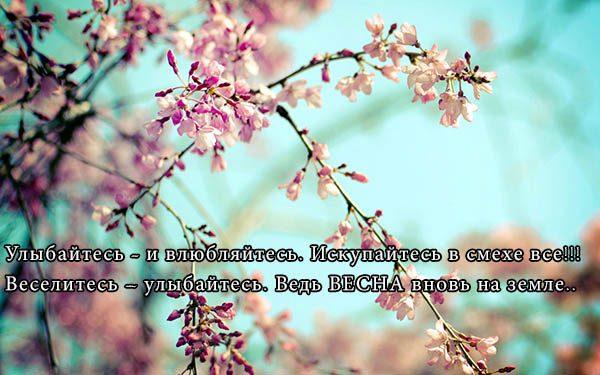 Цитаты про весну и любовь - красивые, удивительные, со смыслом 9