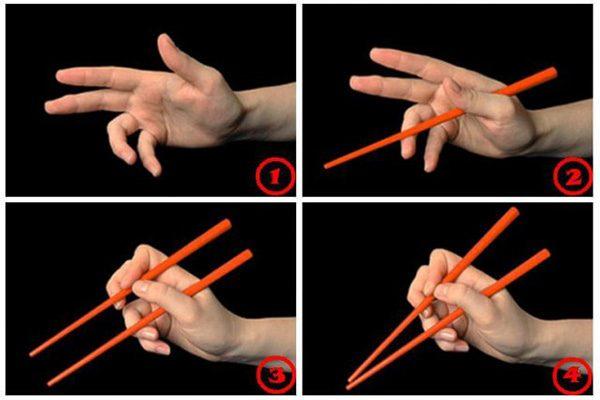 Как правильно держать китайские палочки - лучшие советы 3