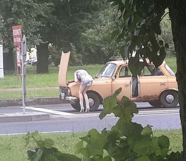 Автомобильные приколы - смешные, веселые, прикольные 15