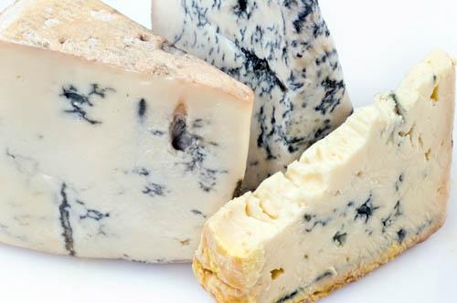 Голубой сыр и его разновидности, сыр с голубой плесенью - описание Горгонзола