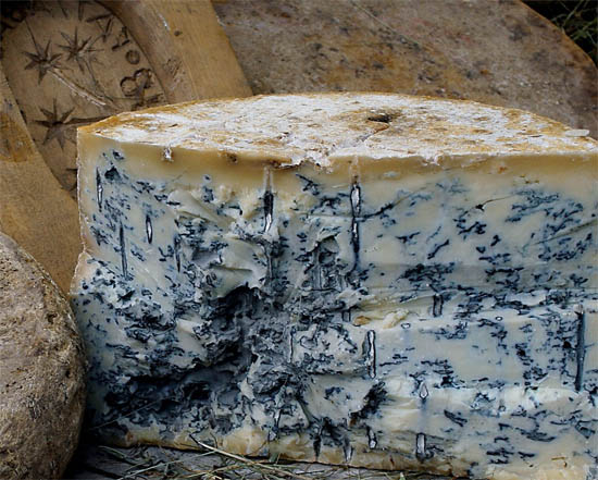 Голубой сыр и его разновидности, сыр с голубой плесенью - описание 1