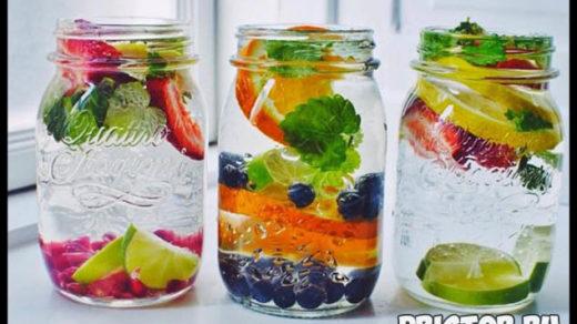 Дренажные напитки для похудения в домашних условиях - рацион 2
