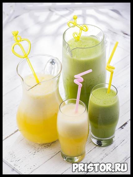 Дренажные напитки для похудения в домашних условиях - рацион 4