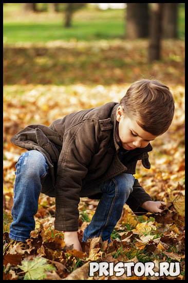Как одеть малыша на прогулку осенью в детский сад 4