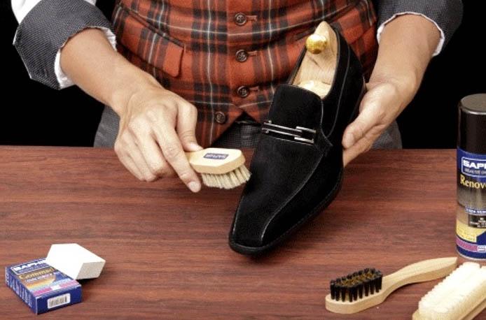 Как почистить замшевую обувь в домашних условиях - уход 4