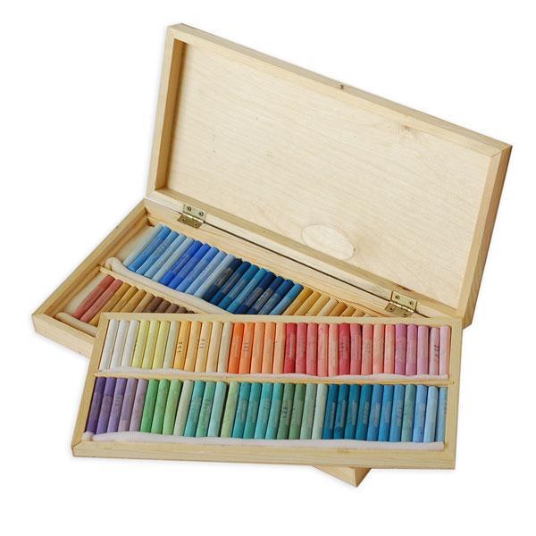 Как рисовать пастелью поэтапно для начинающих - сухая и масляная пастель 2