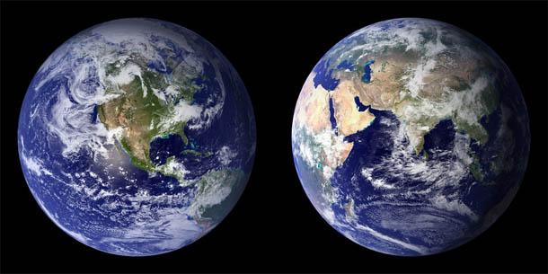 Картинки Земли для детей - красивые, интересные, с космоса 10