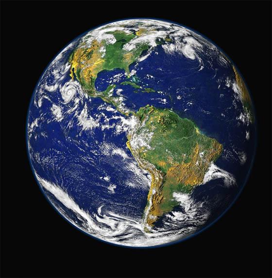 Картинки Земли для детей - красивые, интересные, с космоса 13